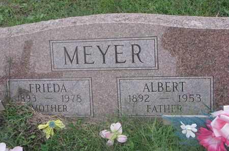 MEYER, FRIEDA - Cuming County, Nebraska | FRIEDA MEYER - Nebraska Gravestone Photos