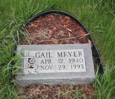MEYER, GAIL - Cuming County, Nebraska | GAIL MEYER - Nebraska Gravestone Photos