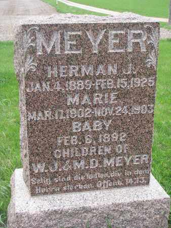 MEYER, BABY - Cuming County, Nebraska | BABY MEYER - Nebraska Gravestone Photos