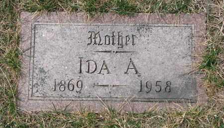 MEYER, IDA A. - Cuming County, Nebraska | IDA A. MEYER - Nebraska Gravestone Photos