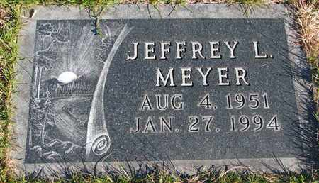 MEYER, JEFFREY L. - Cuming County, Nebraska | JEFFREY L. MEYER - Nebraska Gravestone Photos