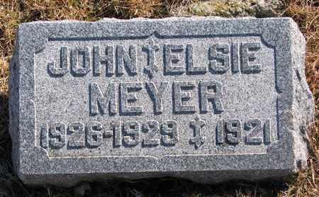 MEYER, ELSIE - Cuming County, Nebraska | ELSIE MEYER - Nebraska Gravestone Photos