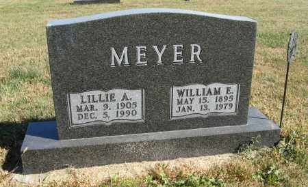 MEYER, LILLIE A. - Cuming County, Nebraska | LILLIE A. MEYER - Nebraska Gravestone Photos