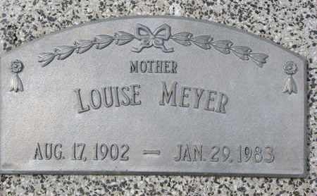 MEYER, LOUISE - Cuming County, Nebraska | LOUISE MEYER - Nebraska Gravestone Photos