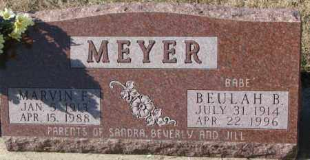 MEYER, BEULAH B. - Cuming County, Nebraska | BEULAH B. MEYER - Nebraska Gravestone Photos