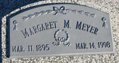 MEYER, MARGARET M. - Cuming County, Nebraska | MARGARET M. MEYER - Nebraska Gravestone Photos