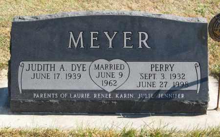 MEYER, PERRY - Cuming County, Nebraska | PERRY MEYER - Nebraska Gravestone Photos