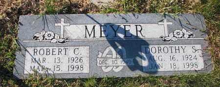 MEYER, ROBERT C. - Cuming County, Nebraska | ROBERT C. MEYER - Nebraska Gravestone Photos