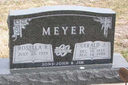 MEYER, GERALD J. - Cuming County, Nebraska | GERALD J. MEYER - Nebraska Gravestone Photos