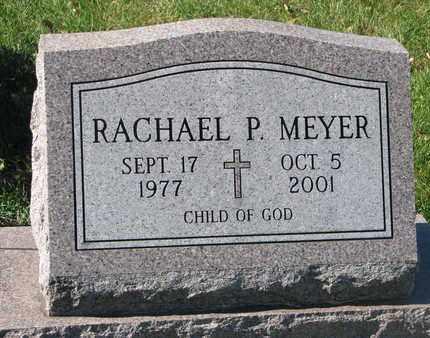 MEYER, RACHEL P. - Cuming County, Nebraska | RACHEL P. MEYER - Nebraska Gravestone Photos