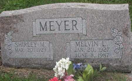 MEYER, MELVIN L. - Cuming County, Nebraska | MELVIN L. MEYER - Nebraska Gravestone Photos
