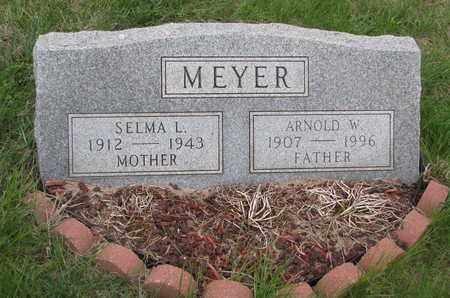 MEYER, ARNOLD W. - Cuming County, Nebraska   ARNOLD W. MEYER - Nebraska Gravestone Photos