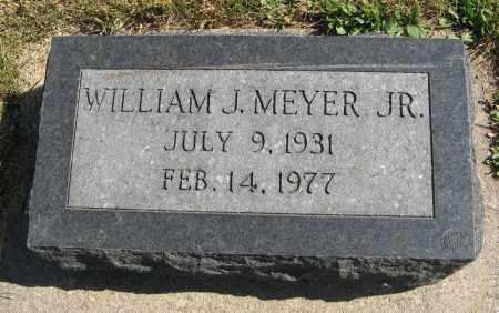 MEYER, WILLIAM J., JR. - Cuming County, Nebraska | WILLIAM J., JR. MEYER - Nebraska Gravestone Photos