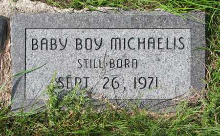 MICHAELIS, BABY BOY - Cuming County, Nebraska | BABY BOY MICHAELIS - Nebraska Gravestone Photos