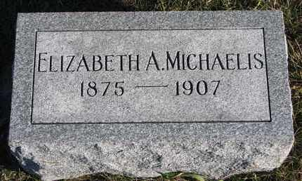 MICHAELIS, ELIZABETH A. - Cuming County, Nebraska | ELIZABETH A. MICHAELIS - Nebraska Gravestone Photos
