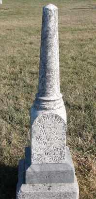 MICHAELIS, EMMA L. - Cuming County, Nebraska | EMMA L. MICHAELIS - Nebraska Gravestone Photos