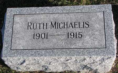 MICHAELIS, RUTH - Cuming County, Nebraska | RUTH MICHAELIS - Nebraska Gravestone Photos