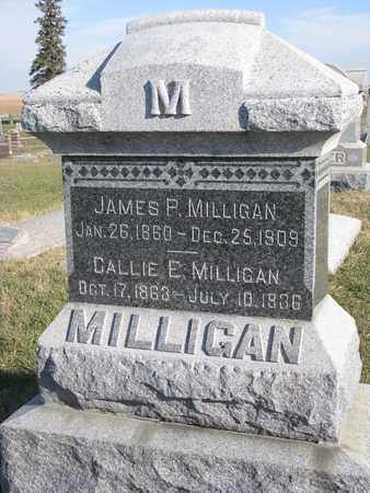 MILLIGAN, CALLIE E. - Cuming County, Nebraska | CALLIE E. MILLIGAN - Nebraska Gravestone Photos
