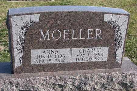 MOELLER, CHARLIE - Cuming County, Nebraska | CHARLIE MOELLER - Nebraska Gravestone Photos