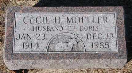 MOELLER, CECIL H. - Cuming County, Nebraska | CECIL H. MOELLER - Nebraska Gravestone Photos