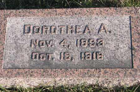 MOELLER, DOROTHEA A. - Cuming County, Nebraska | DOROTHEA A. MOELLER - Nebraska Gravestone Photos