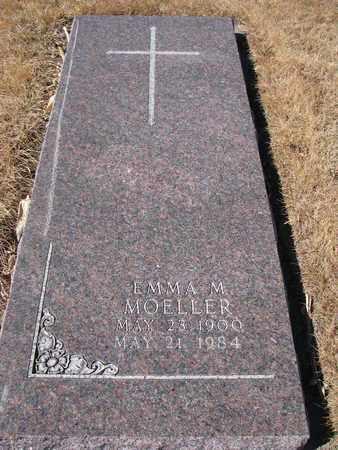 MOELLER, EMMA M. - Cuming County, Nebraska | EMMA M. MOELLER - Nebraska Gravestone Photos
