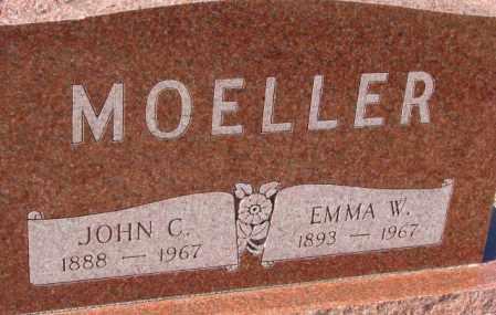 MOELLER, EMMA W. - Cuming County, Nebraska | EMMA W. MOELLER - Nebraska Gravestone Photos