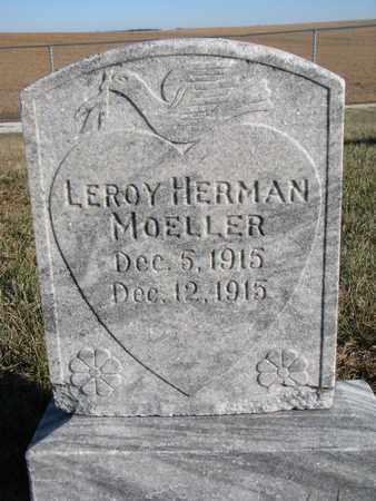 MOELLER, LEROY HERMAN - Cuming County, Nebraska   LEROY HERMAN MOELLER - Nebraska Gravestone Photos