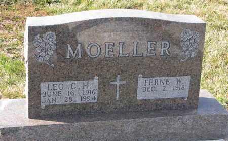 MOELLER, FERNE W. - Cuming County, Nebraska | FERNE W. MOELLER - Nebraska Gravestone Photos