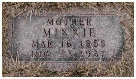 MOELLER, MINNIE - Cuming County, Nebraska   MINNIE MOELLER - Nebraska Gravestone Photos