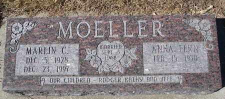 MOELLER, ANNA FERN - Cuming County, Nebraska | ANNA FERN MOELLER - Nebraska Gravestone Photos