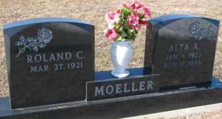 MOELLER, ROLAND C. - Cuming County, Nebraska | ROLAND C. MOELLER - Nebraska Gravestone Photos