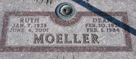 MOELLER, DEAN - Cuming County, Nebraska | DEAN MOELLER - Nebraska Gravestone Photos