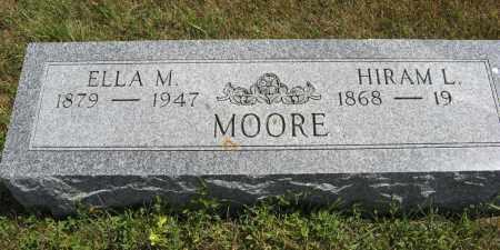 MOORE, HIRAM L. - Cuming County, Nebraska | HIRAM L. MOORE - Nebraska Gravestone Photos