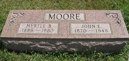 MOORE, MYRTLE B. - Cuming County, Nebraska | MYRTLE B. MOORE - Nebraska Gravestone Photos