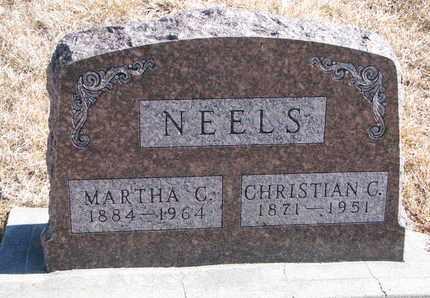 NEELS, MARTHA C. - Cuming County, Nebraska | MARTHA C. NEELS - Nebraska Gravestone Photos