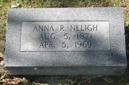 NELIGH, ANNA R. - Cuming County, Nebraska | ANNA R. NELIGH - Nebraska Gravestone Photos