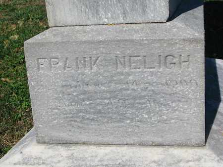 NELIGH, FRANK - Cuming County, Nebraska | FRANK NELIGH - Nebraska Gravestone Photos
