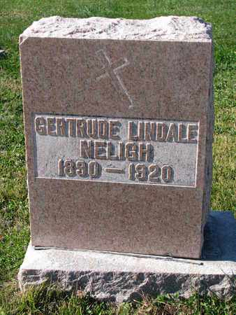 NELIGH, GERTRUDE - Cuming County, Nebraska | GERTRUDE NELIGH - Nebraska Gravestone Photos