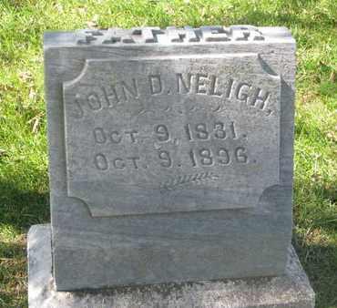 NELIGH, JOHN D. - Cuming County, Nebraska | JOHN D. NELIGH - Nebraska Gravestone Photos