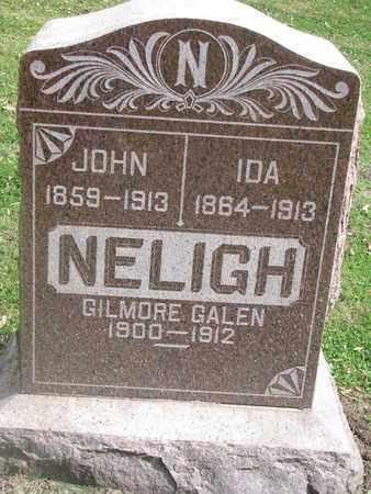 NELIGH, IDA - Cuming County, Nebraska | IDA NELIGH - Nebraska Gravestone Photos