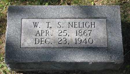 NELIGH, W.T.S. - Cuming County, Nebraska   W.T.S. NELIGH - Nebraska Gravestone Photos