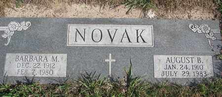 NOVAK, BARBARA M. - Cuming County, Nebraska | BARBARA M. NOVAK - Nebraska Gravestone Photos
