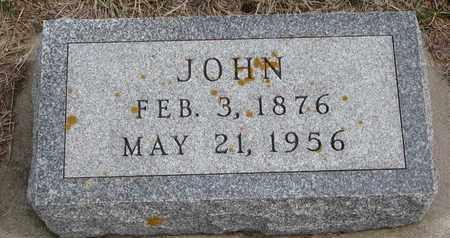 NUERNBERGER, JOHN - Cuming County, Nebraska | JOHN NUERNBERGER - Nebraska Gravestone Photos