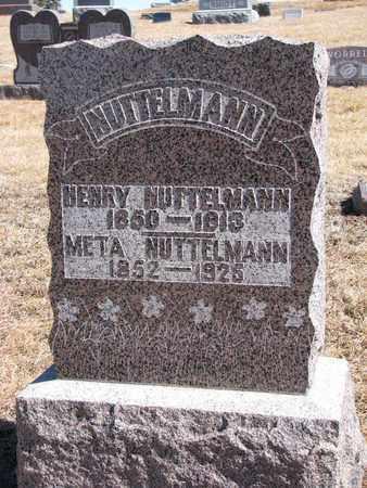 NUTTELMANN, META - Cuming County, Nebraska | META NUTTELMANN - Nebraska Gravestone Photos