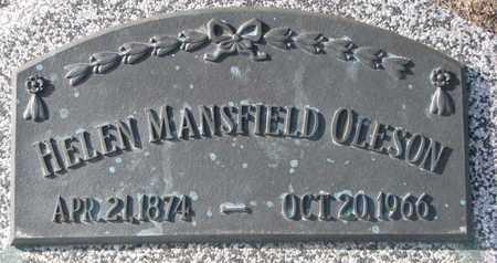 MANSFIELD OLESON, HELEN - Cuming County, Nebraska   HELEN MANSFIELD OLESON - Nebraska Gravestone Photos