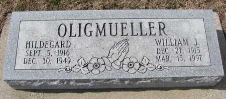 OLIGMUELLER, WILLIAM J. - Cuming County, Nebraska | WILLIAM J. OLIGMUELLER - Nebraska Gravestone Photos