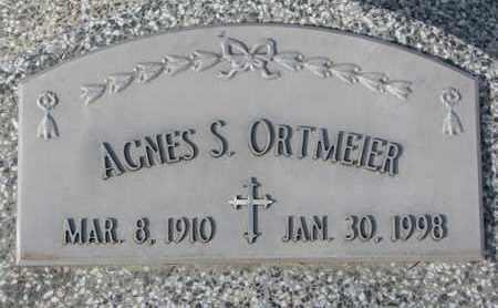 ORTMEIER, AGNES S. - Cuming County, Nebraska | AGNES S. ORTMEIER - Nebraska Gravestone Photos
