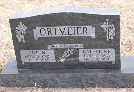 ORTMEIER, KATHERINE - Cuming County, Nebraska | KATHERINE ORTMEIER - Nebraska Gravestone Photos