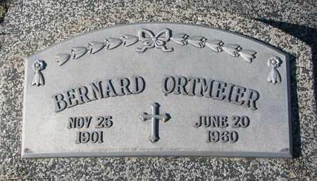 ORTMEIER, BERNARD - Cuming County, Nebraska | BERNARD ORTMEIER - Nebraska Gravestone Photos